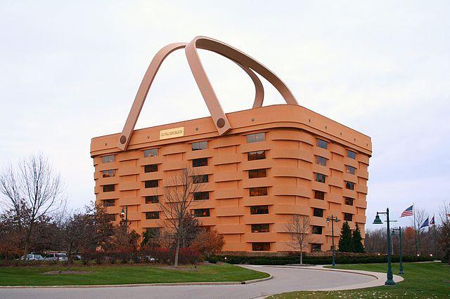 Ingin Merasakan Jadi Barang Belanjaan, Coba Masuk Gedung Keranjang, Newark, Ohio