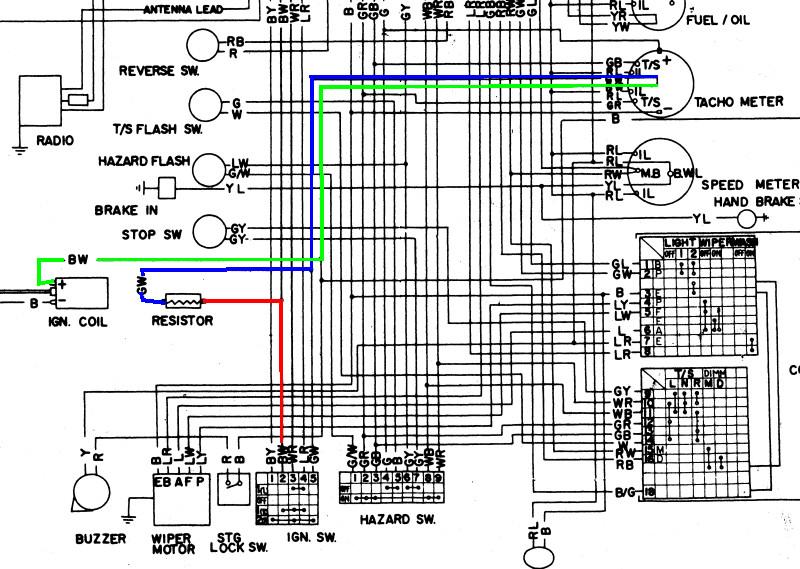 Datsun 240 Z rebuild