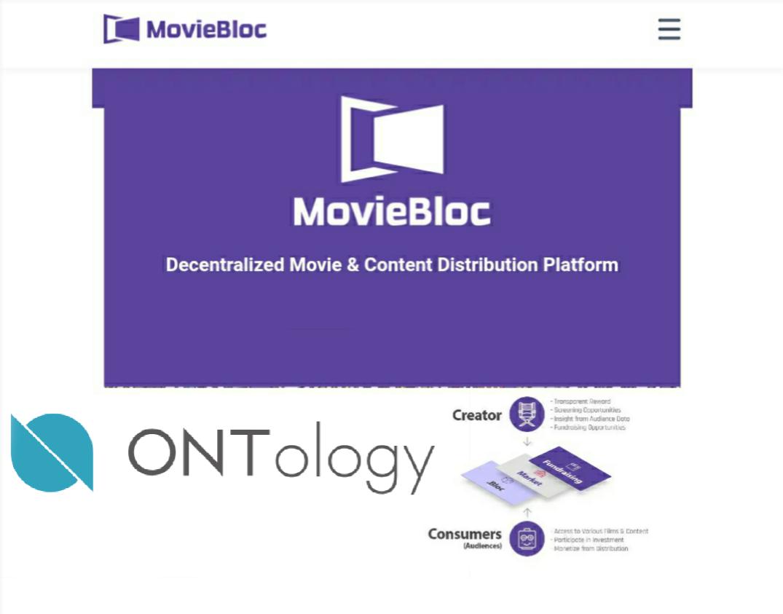 moviebloc menjalin kerjasama dengan ontology, berita blockchain terbaru, berita altcoin terbaru, berita crypto terbaru, film, platform untuk para konten kreator,