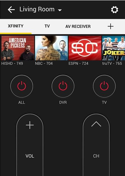 تحميل مباشر - تطبيق Peel Universal Smart TV Remote Control