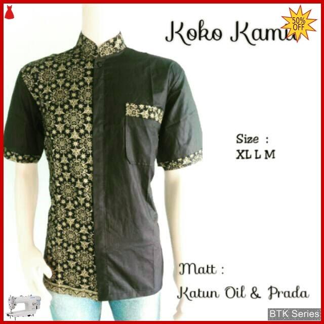 BTK109 Baju Hem Koko Kamil Modis Murah BMGShop
