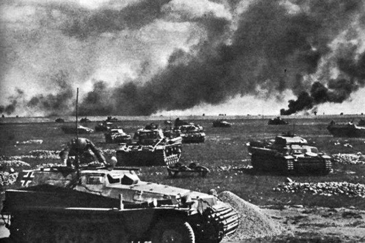Yenilgi sonrası Alman tankları çekilerek, savunma pozisyonu aldı.