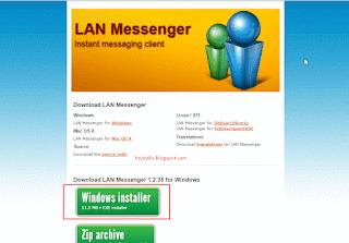 Aplikasi Chat LAN Massenger