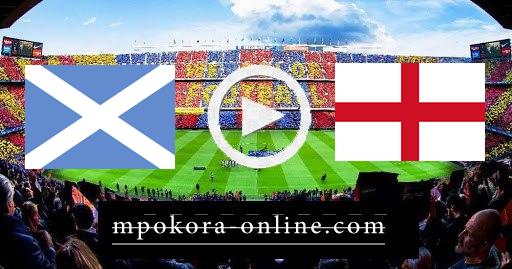 مشاهدة مباراة انجلترا واسكوتلندا بث مباشر كورة اون لاين 18-06-2021 يورو 2020
