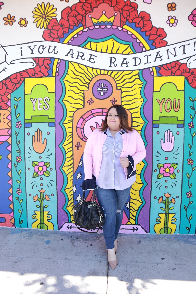 You Are Radiant Mural