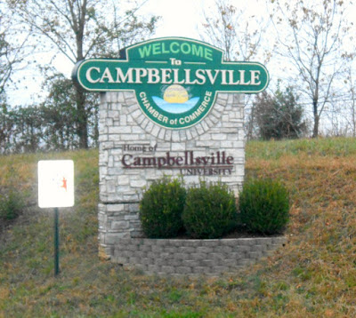 Historic Campbellsville in Taylor County, Kentucky