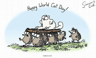 Imágenes Día del Gato Internacional Happy World Cat Day simon's cat