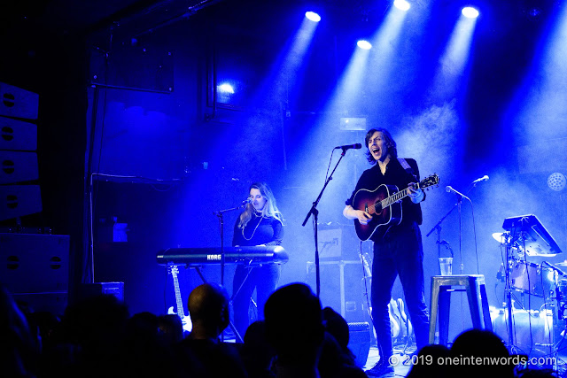 Dave Monks at The Mod Club on April 16, 2019 Photo by John Ordean at One In Ten Words oneintenwords.com toronto indie alternative live music blog concert photography pictures photos nikon d750 camera yyz photographer