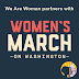 We Are Woman is proud to be an official partner of the Women's March on Washington January 21, 2017!