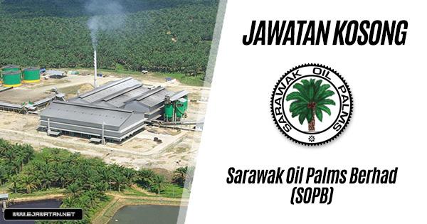 jawatan kosong kerajaan Sarawak Oil Palms Berhad (SOPB) 2020