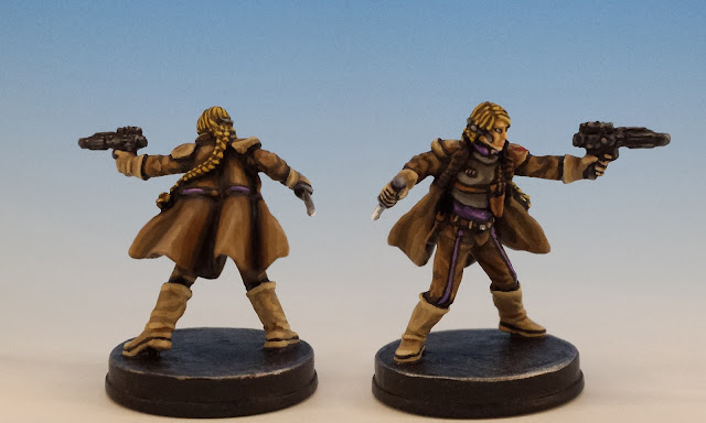Verena Talos, FFG Imperial Assault (2015, sculpted by B. Maillet)