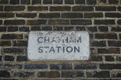 A similar sign saying 'CHATHAM STATION'