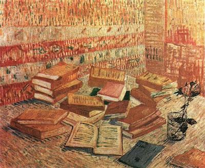 Cuadro de libros