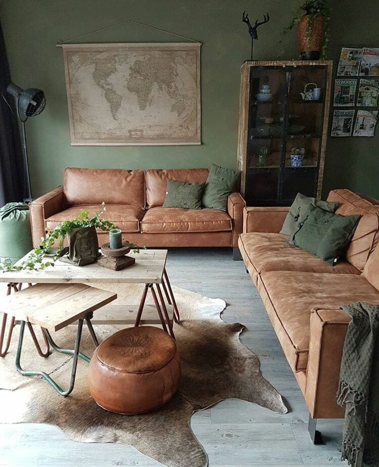 Here's The Best Green Living Room Idea