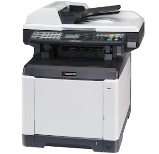 The Unbeatable alongside combination from speed as well as non bad reliability inside a color equally good  Kyocera Ecosys M6526cdn Drivers Download, Review