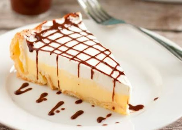 Eclair Pie Recipe #desserts #pie