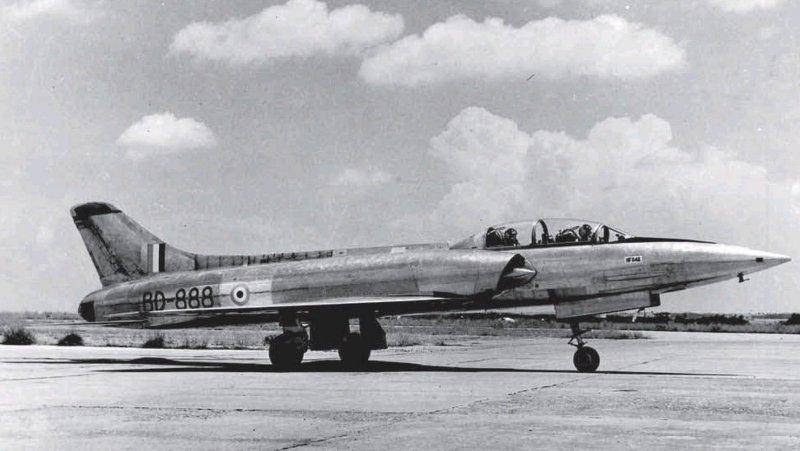 HF-24 Marut Aircraft Indian Air Force IAF - 008 - TN