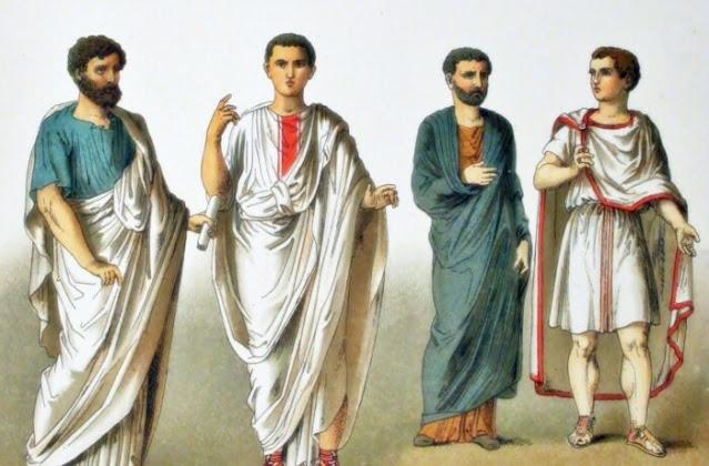 Como eram os antigos romanos?