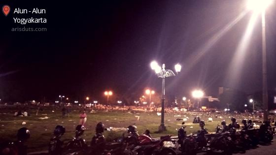 Momen Malam Tahun Baru 2020 di Altar Yogyakarta