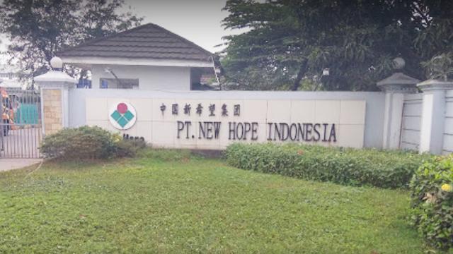Lowongan Kerja PT. New Hope Indonesia Balaraja Tangerang