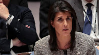 US AMBASSADOR, HALEY WARNS AGAINST WAR IN WHICH NORTH KOREA 'WILL BE UTTERLY DESTROYED