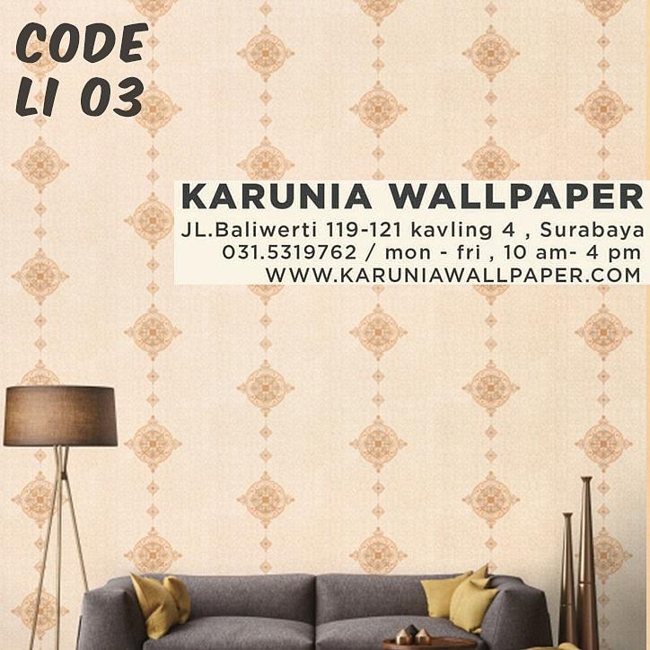 jual wallpaper dinding interior batik kontemporer