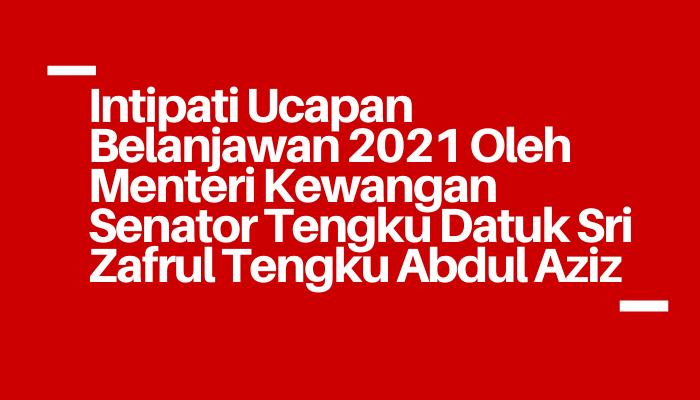 intipati bajet 2021