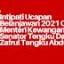 Intipati Ucapan Belanjawan 2021 Oleh Menteri Kewangan Senator Tengku Datuk Sri Zafrul Tengku Abdul Aziz