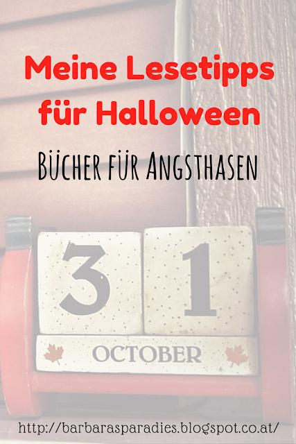 Meine Lesetipps für Halloween: Bücher für Angsthasen