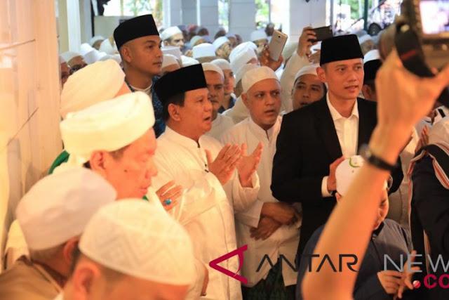 Habib Ali Doakan Cita-Cita Prabowo Dimudahkan