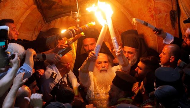 Το Άγιο Φως δεν θα διανεμηθεί στη χώρα