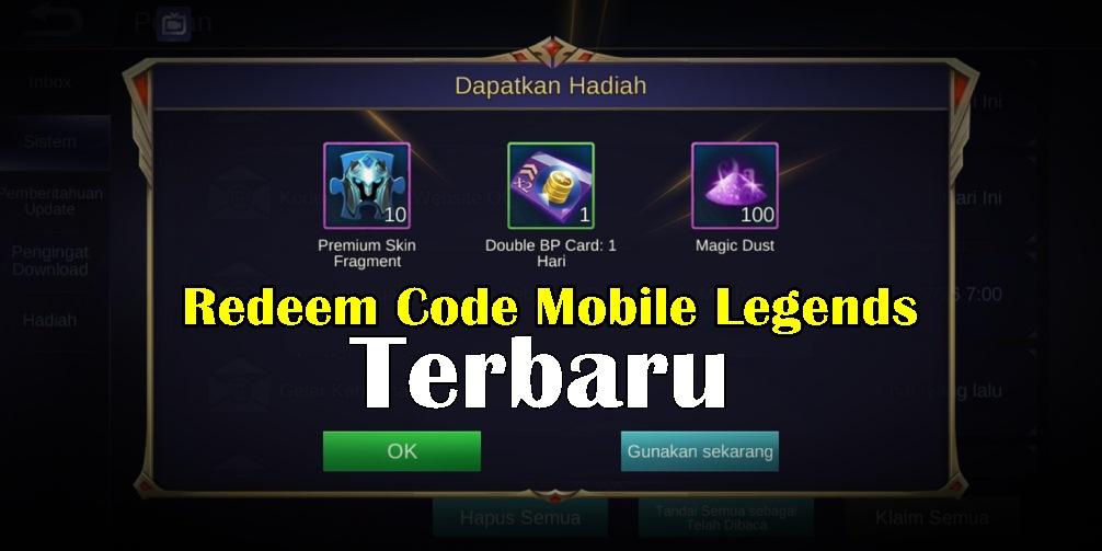 Kumpulan Kode Redeem Mobile Legends (ML) Terbaru September ...