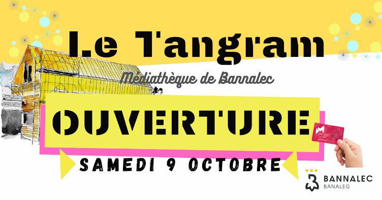 Le Tangram, médiathèque de Bannalec