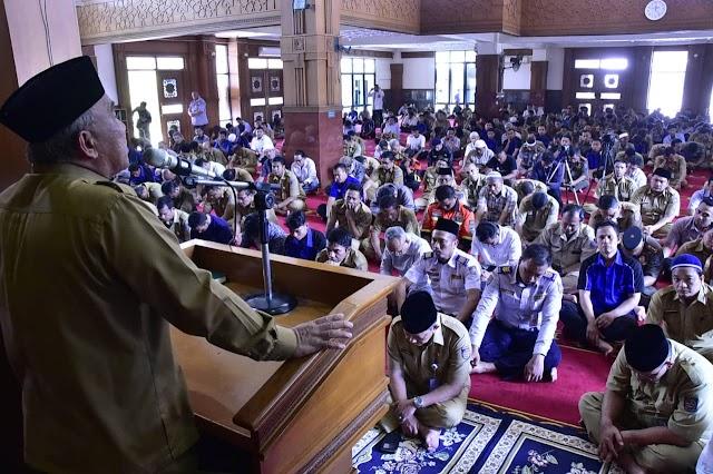 Wali Kota Tausyiah Perdana Di Bulan Ramadhan