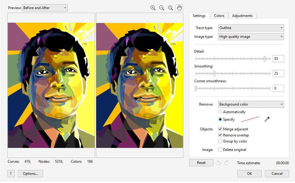 Corel Draw Konversi Digital Bitmap Ke Digital Vector Secara Cepat