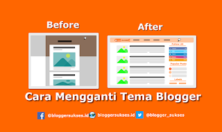 Cara Mengganti Template (Tema) Blogger