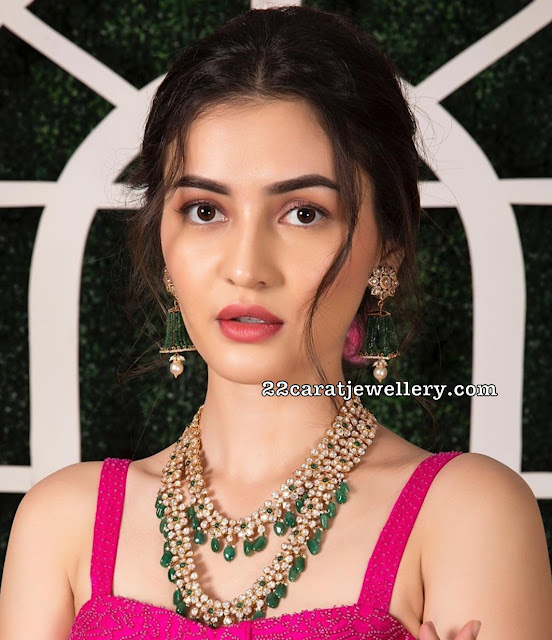 Two Layer Pachi Necklace by Manjula Jewels