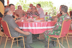 Lakhomizaro Zebua dan Sowa'a Laoli Gelar Syukuran Tahun Baru 2021 di Gunungsitoli