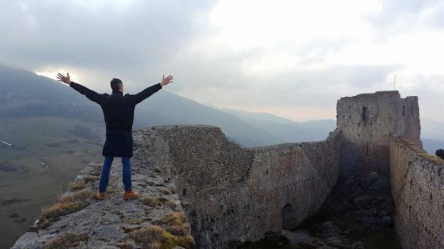 cima del castillo de Montsegur