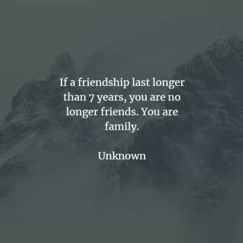 Short friendship quotes and sayings for best friends
