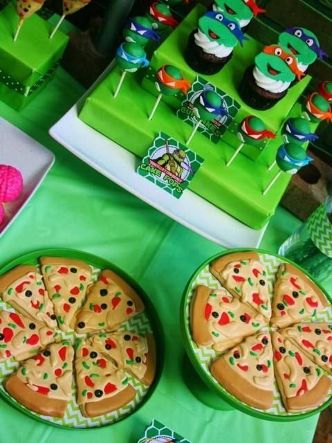 Ideas for Ninja Turtle Birthday Party