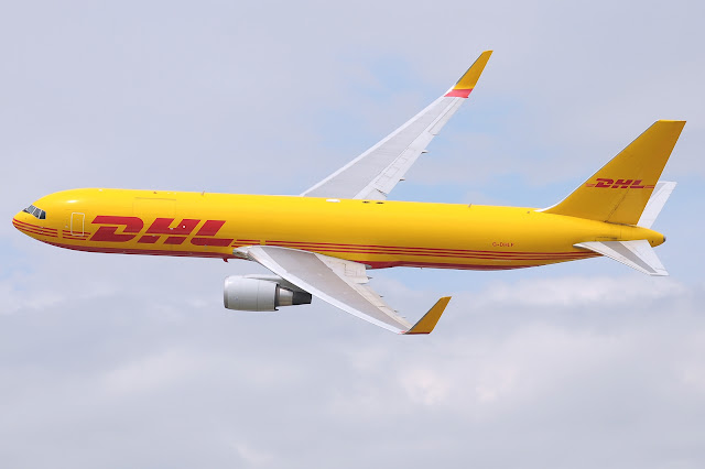 DHL International Aviation Cargo Boeing 767-300