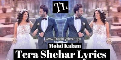 tera-shehar-lyrics