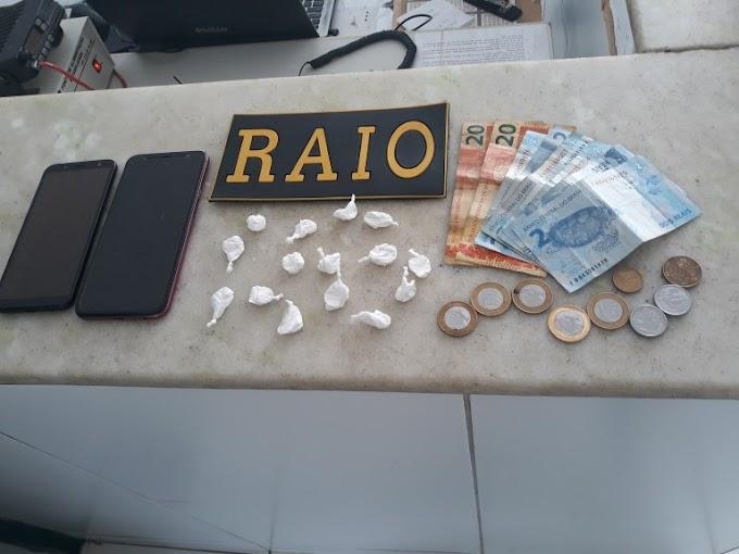 RAIO PRENDEU MULHER EM CRATEÚS POR CRIME DE TRÁFICO DE DROGAS