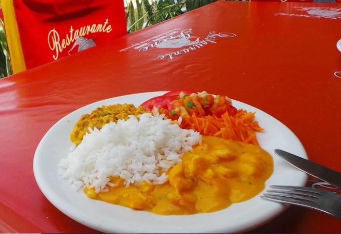 Galinhos, restaurante bom e barato