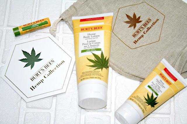 Burt's Bees Hemp Collection