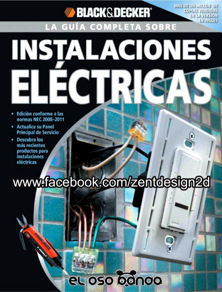 La guía completa sobre instalaciones eléctricas – Black & Decker