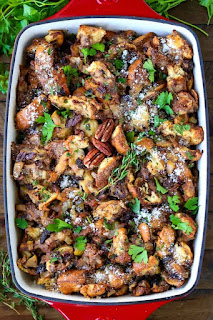 Meatless Monday Vegetarian Pear Recipes - Pear Stuffing