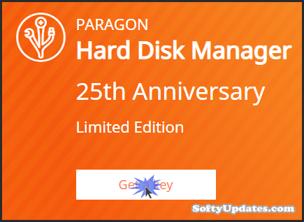 Giveaway: Paragon Hard Disk Manager 25th Anniversary