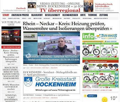 Rhein - Neckar - Kreis: Heizung prüfen, Wasserrohre und Isolierungen überprüfen Krämer Heizung Reilingen Hockenheim Waghäusel Bruchsal